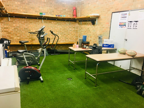 Maitland Rugby medical room